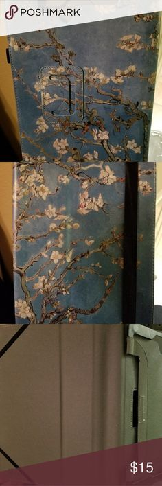 """Tablet Cover Brand new tablet cover with lovely cherry blossoms pattern.  Fits 10"""" NWOT RCA 10 Viking Pro Accessories Tablet Cases"""