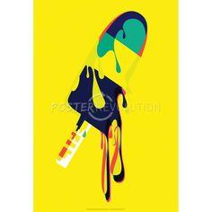 It Melts Annimo Art Poster $3.80 #annimo #popart #icecream #summer