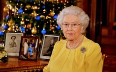 "The Queen gives a speech on television on Christmas afternoon (pictured). It used to be a a custom for tradesmen to collect ""Christmas boxes"" of money or presents on Boxing Day. These days, it's better known as the first day of the sales in the shops.   Picture: JOHN STILLWELL/AFP/Getty Images"