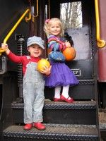 All aboard the Pumpkin Patch Express!