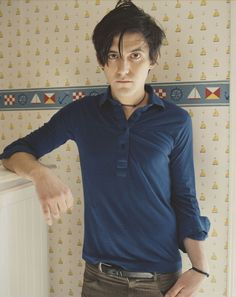 conor oberst and the wallpaper from which his tiny sailboat tattoo comes from. Music Film, Art Music, Conor Oberst, League Of Extraordinary Gentlemen, Bright Eyes, If I Stay, Good People, Amazing People, Music Lyrics