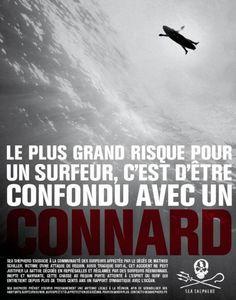 affiche sea shepherd surfeur