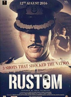 """Check out! The first poster of Akshay Kumar's upcoming movie """"Rustom"""""""