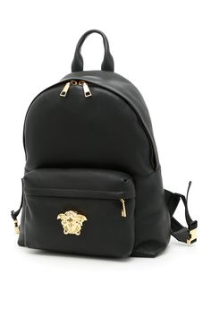 VERSACE PALAZZO BACKPACK.  versace  bags  leather  lining  backpacks   db383e7988068