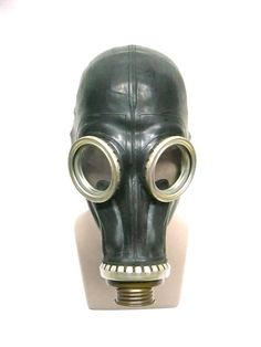 I'll be happy if you visit my store! And look at unique #vintage and antique things, you will definitely find something for yourself! Vintage Soviet gas mask, adult size 1U, M-L, steampunk cyber mask, respirator, Black gas mask GP - 5, Black protective mask  Vintage Soviet gas mask, have all sizes. All th... #etsy #gift #nostalgishop