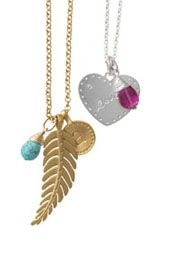 """My favorite necklace with an """"a"""" for beautiful little Amelija!  http://www.stelladot.com/sites/maryhill"""