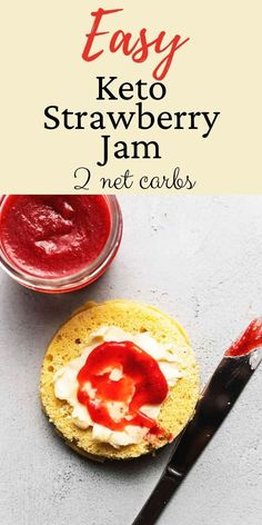 Strawberry Jam has always been one of my favorites but I avoided it because of all the sugar. Now you can enjoy this homemade Keto Strawberry Jam without any hesitation! You won't believe how easy it is! Low Carb Pancakes, Low Carb Breakfast, Breakfast Ideas, Breakfast Recipes, Healthy Sweets, Healthy Eating, Cream Cheese Pancakes, Keto Waffle, Strawberry Jam