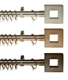 Furnace Curtain Poles