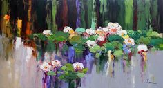 """Lilies"" 60x110 cm"