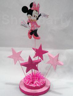 Ballerina Birthday Parties, Minnie Birthday, Baby Birthday, Minnie Mouse Cake, Cupcake Party, Mouse Parties, Birthday Decorations, Birthday Party Ideas, Ideas Para Fiestas