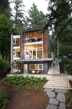 Modern Home Design With Splashes of Personality: Dorsey Residence   DesignDaily   Designs Everyday!
