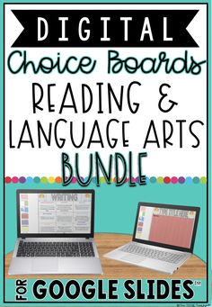 This reading and language arts digital choice boards bundle contains 5 different choice boards that are also sold individually in my store. Save BIG with this bundle and you will be set for your ELA stations!These digital choice menus for Google Drive™️ contain engaging and paperless activities for students to use and practice reading and language arts content. Great way to differentiate for your learners! Students must have their own Google account in order to use this product. Teacher Resources, Classroom Resources, Teaching Ideas, Teaching Tools, Cloze Reading, Guided Reading, Choice Boards, 4th Grade Classroom, Blended Learning