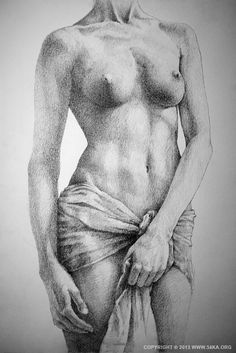 SketchBook Page 35 The Female Pencil Drawing by Dimitar Hristov (54ka)