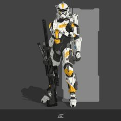 Star Wars Clone Wars, Star Wars Art, Armor Concept, Concept Art, Star Wars Characters Pictures, Future Soldier, Star Wars Wallpaper, Clone Trooper, Star Wars Collection