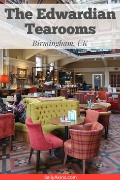 With a relaxed elegance and a delicious menu, the Edwardian Tearooms in the Birmingham Museum and Art Gallery is the perfect place to enjoy a traditional Sunday Lunch at a fantastic price Birmingham Restaurants, City Of Birmingham, Birmingham Museum, Affordable Hotels, Best Hotels, Short City Breaks, Hotel Menu, Best Places To Eat, London Travel
