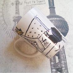Natural Queen  Sharpie mug gift MuggedbyHenryandCo on Etsy