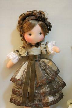 MUÑECAS CON CORAZON - fidelina muñecas con corazon