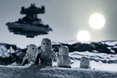 Snow Troopers on Hoth.