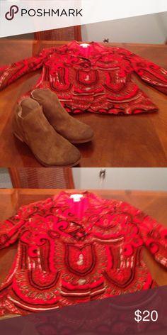 Boho Jacket by Isaac Mizrahi Jacket Isaac Mizrahi Jackets & Coats Blazers