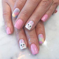 228 Best Easter Nail Art Images On Pinterest In 2018 Easter Nail