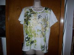 Style & Company T-Shirt Size 1X #Styleco #GraphicTee
