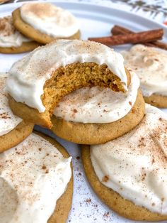 Soft, fluffy and incredibly decadent pumpkin cookies that are iced with a sweet cream cheese frosting. Quick, easy and guaranteed to wow a crowd!