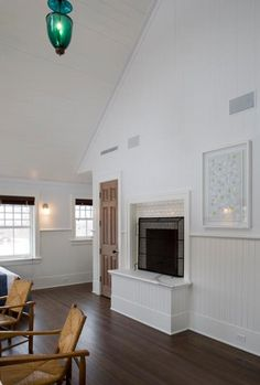 Elevated fireplace