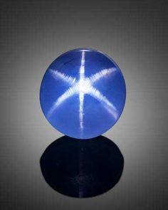 This rich cornflower blue 24.36ct Sri Lankan star sapphire was sold by Bonhams for $27,500 in November 2014.