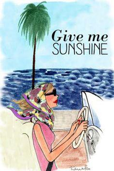 Give me Sunshine girls summer