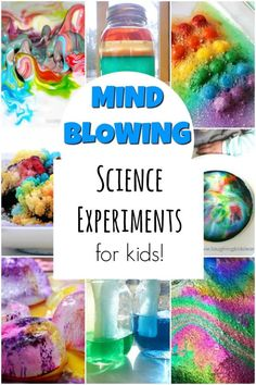 These are the coolest science experiments for kids. Perfect for science projects… These are the coolest science experiments for kids. Perfect for science projects or a rainy Science Experiments to BLOW your Kid's MindArt video for kids learn with Science Projects For Kids, Easy Science Experiments, Science Activities For Kids, Stem Science, Stem Activities, Kindergarten Science Experiments, Science Education, Earth Science, Science Lessons