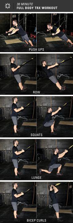 5 Exercises, 30 Minutes = Full Body Workout