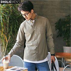 ★4colorsボタンダウンシャツ・全4色★a46805 メンズ【sh】 ROOM - my favorites, my shop 好きなモノを集めてお店を作る