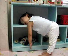 Have you ever been this tired? pics of babies and animals sleeping in funny positions