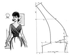 Amazing Sewing Patterns Clone Your Clothes Ideas. Enchanting Sewing Patterns Clone Your Clothes Ideas. Diy Clothing, Sewing Clothes, Clothing Patterns, Dress Patterns, Techniques Couture, Sewing Techniques, Free Sewing, Vintage Sewing Patterns, Couture Vintage
