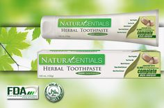 NaturaCentials Herbal Toothpaste cleans teeth, fights cavities, prevents plaque, keeps gums healthy, and freshens breath. Best Toothpaste, Herbal Toothpaste, Heath Care, Shops, Personal Hygiene, Teeth Cleaning, Tea Tree Oil, Oral Health, Cavities