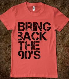 Yes, yes, and more yes. 90's kids unite!