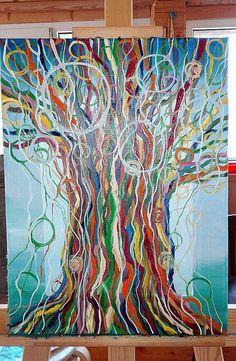 нейрографика Дерево силы