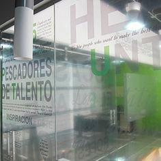 Decoración de Oficinas con Vinilos - Instalación de Vinilos Decorativos