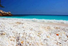 The Unusual and Stunning Marble Beach, Thassos Island, Greece.