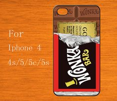 Chocolate Candy Bar - iphone 4 Case, iPhone 4s Case, iPhone 4 Cover, iPhone 4S Cover on Etsy, $6.99