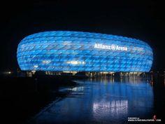 Allianz Arena. FC Bayern München / TSV 1860 München. Deutschland.