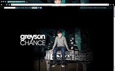 Greyson Chance Chrome Theme