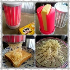 This Butter Grater has to be one of the greatest inventions Cool Kitchen Gadgets, Kitchen Hacks, Cool Gadgets, Cool Kitchens, Kitchen Things, Kitchen Ideas, Articles Divers, Cheese Grater, Great Inventions