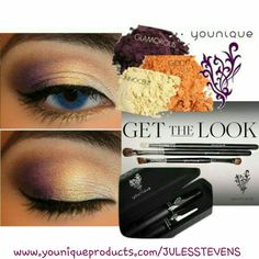 Gorgeous fall eye color by Younique!! So easy, so simple, so beautiful! www.youniqueproducts.com/JULESSTEVENS
