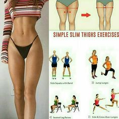 how to slim down your thighs Follow us (@fitutor) for the best daily workout tips 💪 ⠀ 📸 All credits to respective owner(s) // DM Tag a friend who'd like these tips 👇