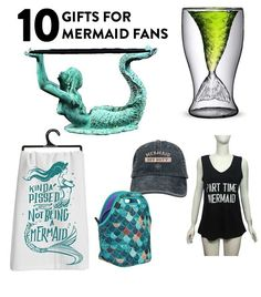 Mermaid Stuff: 10 Mermaid Gifts You Need - http://bestplacevacation.com/mermaid-stuff-10-mermaid-gifts-you-need.html