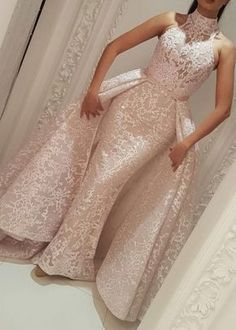 Prom Dresses Boho, Evening Formal Dresses Yousef Aljasmi High Neck Detachable Over Skirt 2018 Lace Dubai Arabic Mermaid Occasion Prom Dress See Through Shop prom dresses Boho,such as beading prom pieces prom dresses,chiffon prom dress,lace prom dresses Muslim Evening Dresses, Evening Gowns, Evening Party, Elegant Bridesmaid Dresses, Wedding Dresses, Prom Dresses, Mermaid Dresses, Elegant Dresses, Lace Mermaid