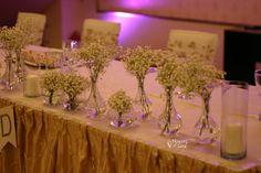 Decor realizat cu floarea miresei albă – Flowers of Soul Table Decorations, Wedding, Home Decor, Valentines Day Weddings, Decoration Home, Room Decor, Weddings, Home Interior Design, Marriage