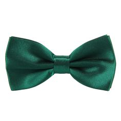 CellDeal New Mens Pure Plain Bowtie Polyester Pre Tied Wedding Party Bow Tie dark green: Amazon.co.uk: Clothing