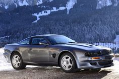 Aston Martin V600 Vantage Le Mans
